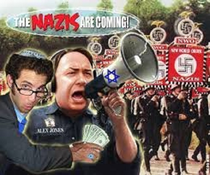 Alex Jones ~ The Nazis are coming