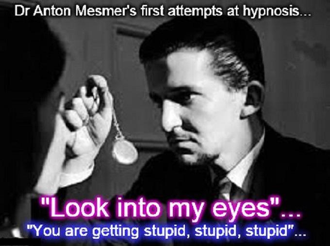 Anton Mesmer ~ Stupid, stupid, stupid ~