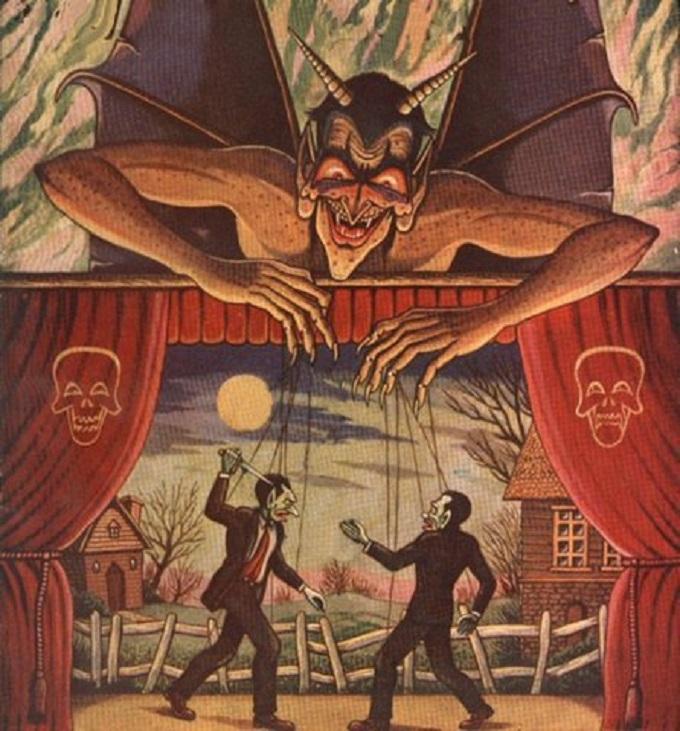 Devil puppeteer