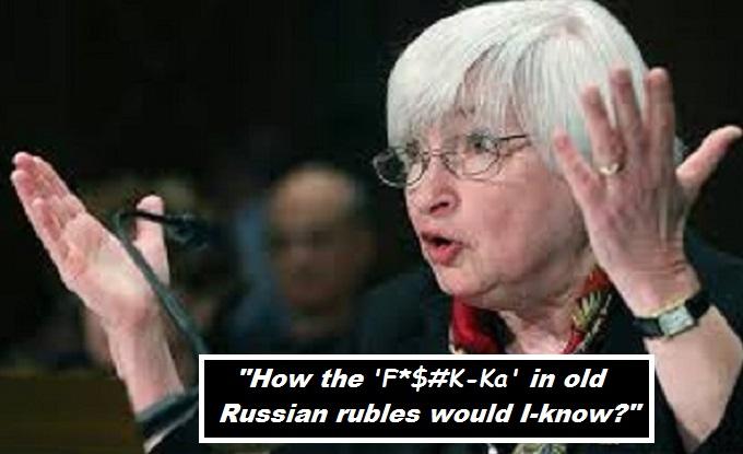 Janet Yellen ~Ols Russian rubles