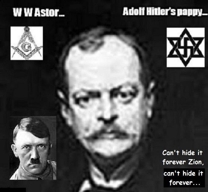 WW Astor Hitler CAN'T HIDE IT FOREVER