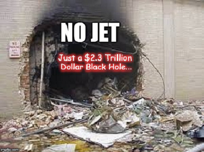 911 ~ No Jet 2.3 Trillion
