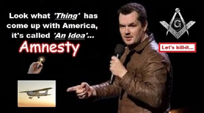 Amnesty THING Jim Jeffries Mason LETS KILL IT 550