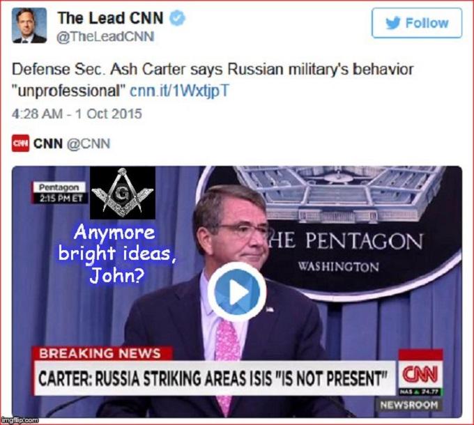 Ash Carter ~ Bright ideas John McCain MASON