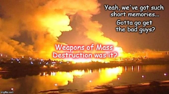 Bagdad Iraq WMD bombing