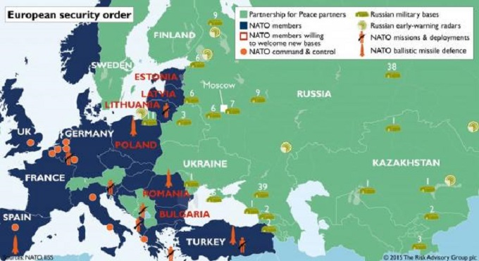 European security map