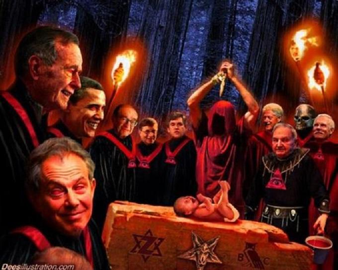 Illuminati Baby torture murder ritual