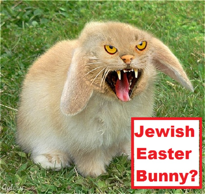Jewish Easter Bunny killer bunny