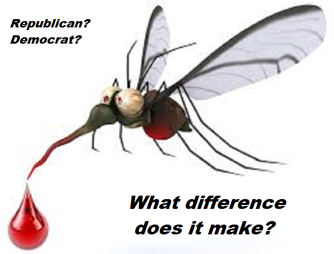 Mosquito blood ~ Republican Democrat