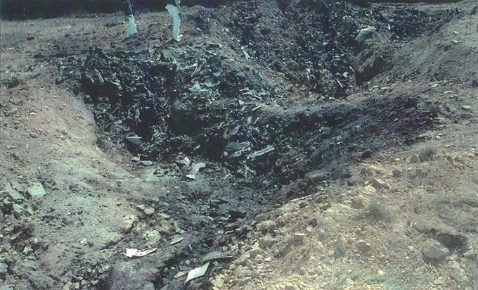 Penn crash site