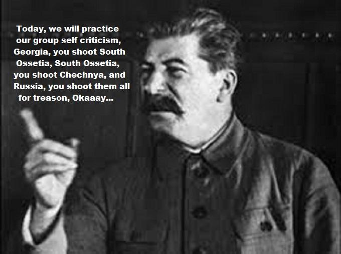 Stalin finger treason