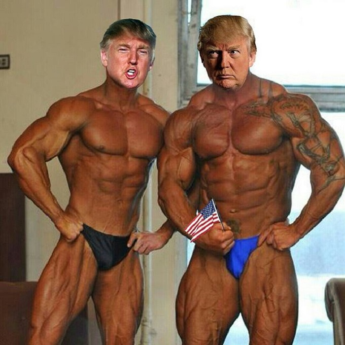 Trump and Trump muscles