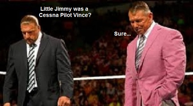 Vince McMahon ~ Pretty in Pink LITTLE JIMMY
