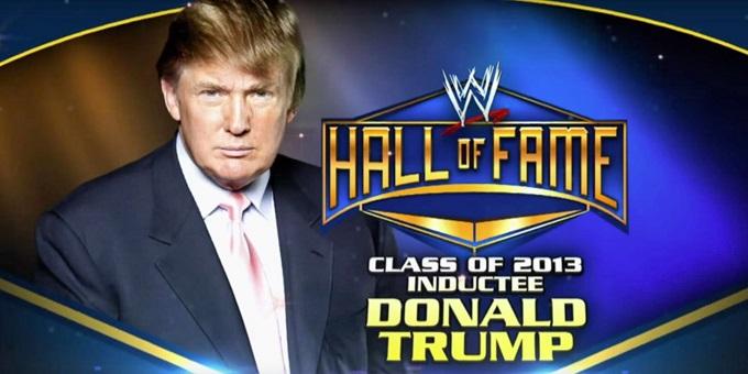 WWE Donald Trump
